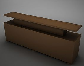 3D model Modern Dining Room Buffet Table 3