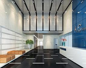 Office lobby GN 3D model