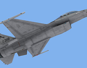 F-16C Fighting Falcon USAF 3D asset