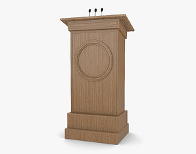 Podium furniture 3D model