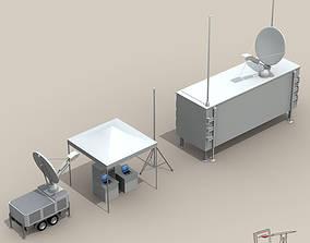 3D model UAV Ground Control Stations