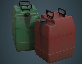 3D model Fuel Can 8B