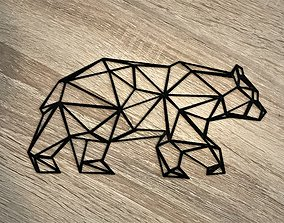 3D print model Bear - Geometric Shapes