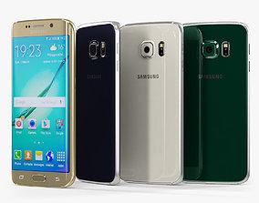 3D model realtime Samsung Galaxy S6 Edge