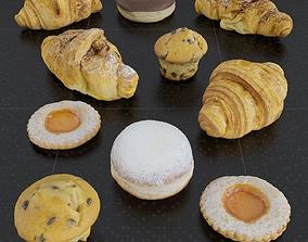 3D Pastry Set 01