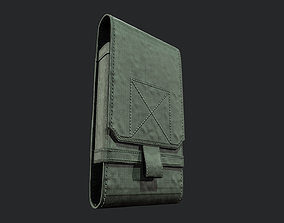 3D asset Tactical Phone Pouch - Tutorial Included