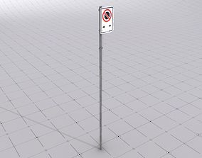 Vancouver No Stopping Sign Game Ready Prop VR / AR ready 2