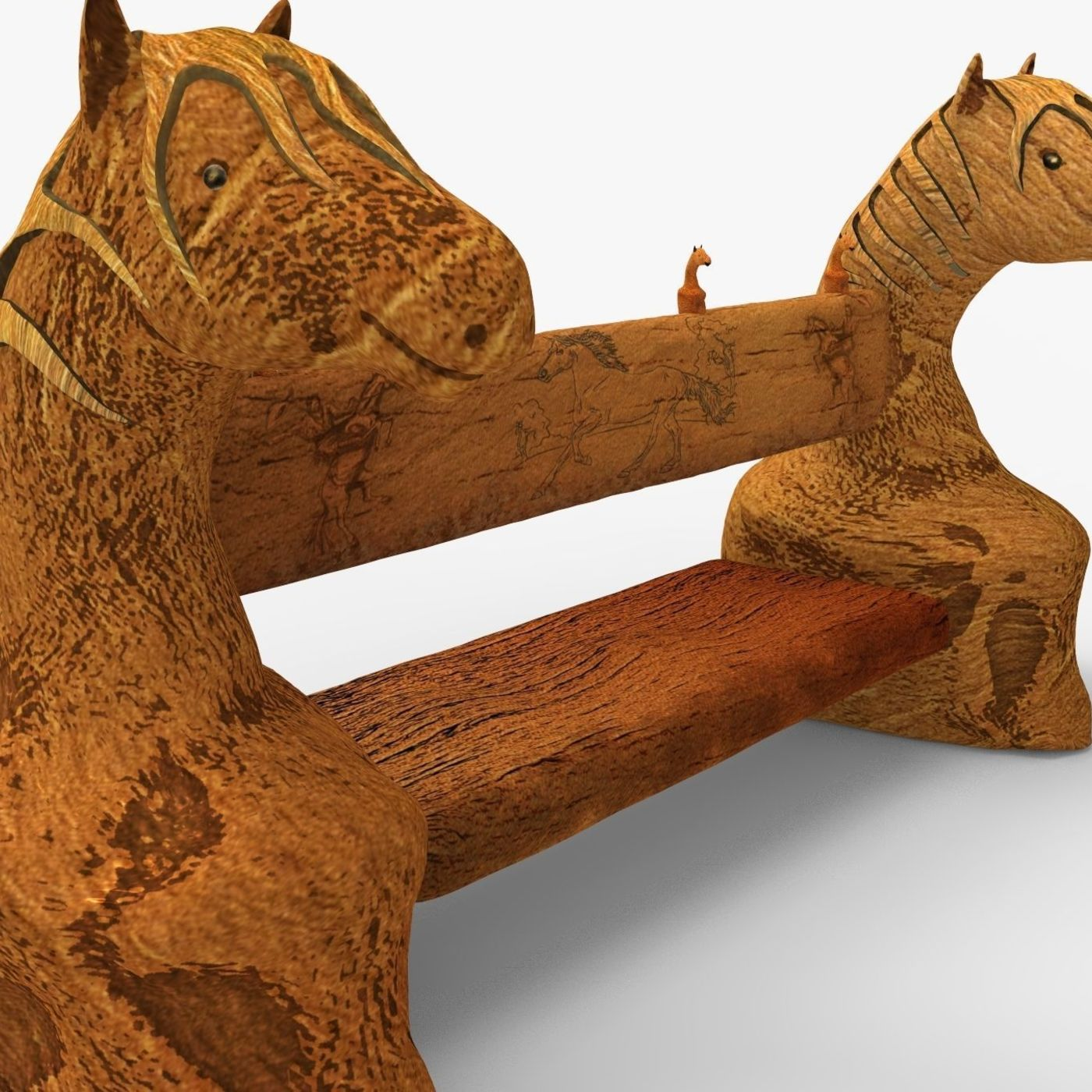 Horse_headed style bench design