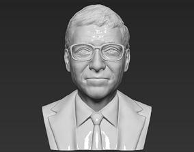 Bill Gates bust 3D printing ready stl obj