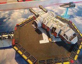 3D printable model Newt Shuttle MCB- SA7