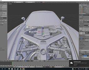 Aston Martin One 77 3D