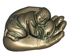 Palm of Buddha 3D print model