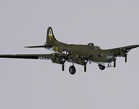 B-17G Flying Fortress 3D asset