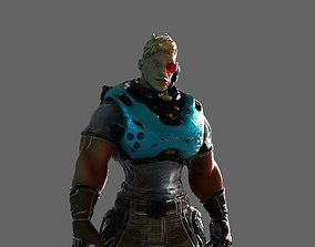 Cyber Soldier 3D model