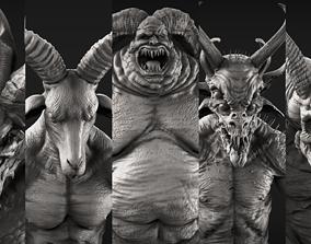 Demons High Poly Sculpts Bundle 1 3D model