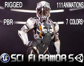 Sci-Fi Armor 10 3D model