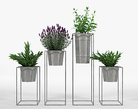 3D Farmhouse Galvanized Planters