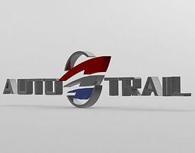 auto trail logo 3D