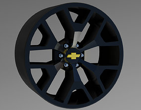 OEM wheel GMC Sierra 3D printable model