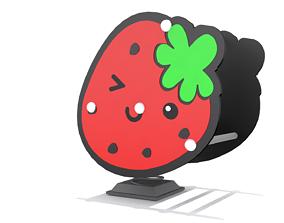 3D model Playground - Strawberry Rider
