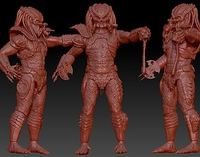 predator 2 inspired city hunter 3D printable model