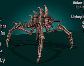 Shrimp Monster V5 3D model