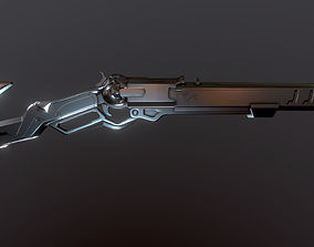 Ashe weapon 3D printable