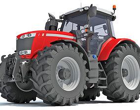 harvest 3D Farm Tractor