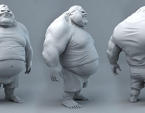 Fat Dude Jack 3D printable model sculptures