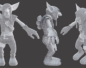 Goblin 3D model character