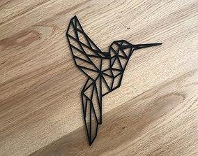 Bird - Geometric 3D print model