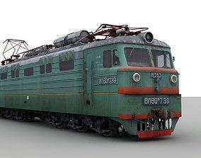 3D model Soviet electirc locomotive VL60