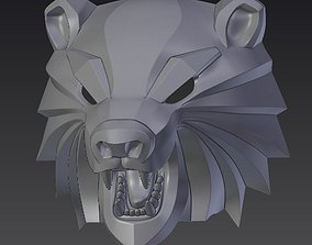 Bear head mask from The Witcher 3 3D printable model