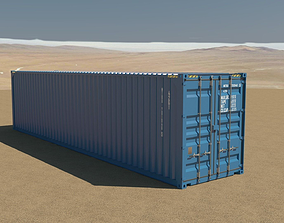 40ft Container 3D model