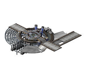 Future World - Machinery 03 3D model