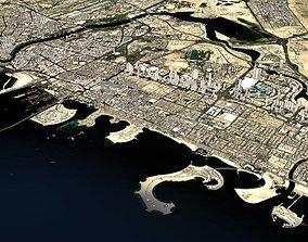 3D Cityscape Dubai United Arab Emirates