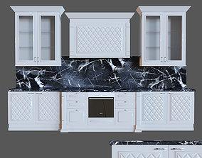 3D model Kitchen classic Glanec