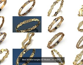 Best 32 New bangles 3D Models