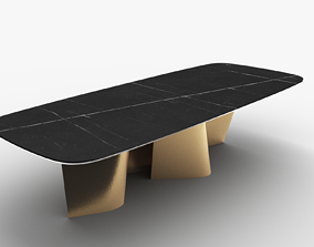 Esse 72 Reflex Spa Table 3D model animated