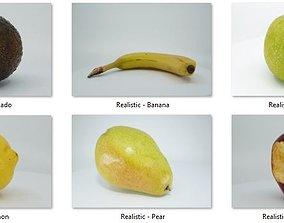 3D model Realistic - Fruit