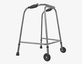 Walker with wheels 3D model