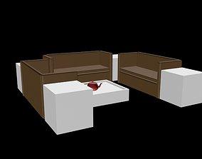 living sofa 3d model sofa for living area