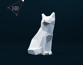 3D print model Lowpoly Fox