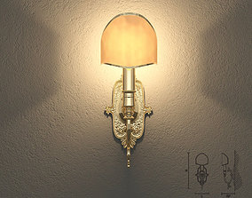 3D Masiero VE1075 A1 wall lamp