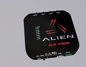 ARL RFID reader 3d model industrial