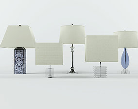 3D model Table Lamps by ZARA HOME 1