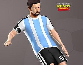 3D print model Lionel Messi argentina