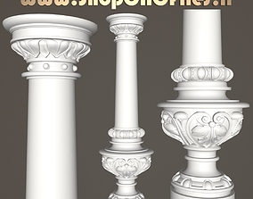 carved classic baluster 3D print model