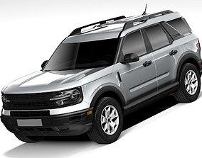 3D model Ford Bronco Sport Base 2021