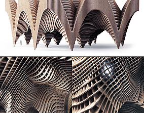 Parametric big Hall 3D